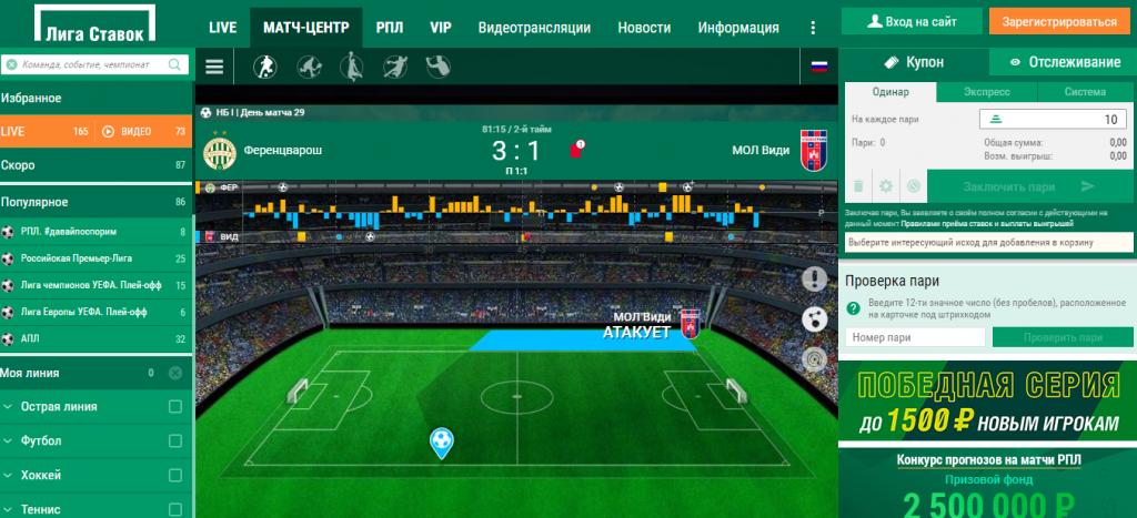 Бесплатные прогнозы Liga Stavok
